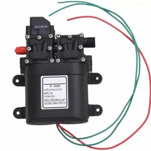 Pompa de apa cu presostat incorporat, autoamorsata, avand un corp dublu, alimentata la 12V cc, 3A  cu un debit de 8 litri / minut; Putere de 6.9bar (110PSI)0
