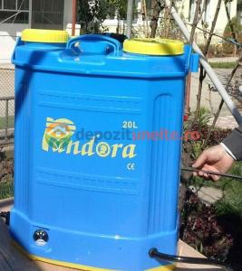 Pompa de stropit cu acumulator Pandora, 20 L - Vermorel2