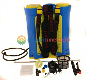 Pompa de stropit electrica cu acumulator Pandora 16L Micul fermier 2020 - Vermorel electric cu baterie14
