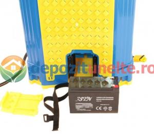 Pompa de stropit electrica cu acumulator Pandora 16L Micul fermier 2020 - Vermorel electric cu baterie12