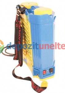 Pompa de stropit electrica cu acumulator Pandora 16L Micul fermier 2020 - Vermorel electric cu baterie16