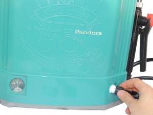 Pompa de stropit electrica cu acumulator Pandora 16L Micul fermier 2020 - Vermorel electric cu baterie [2]