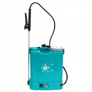 Pompa de stropit electrica Micul Fermier by Pandora 12L, Vermorel electric cu acumulator de 12V 8Ah 5,5 bar si regulator de presiune7