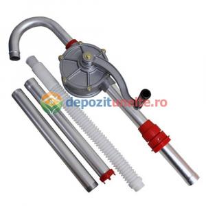 Pompa manuala rotativa pentru transfer lichide, ulei, combustibil Hand Pump #32