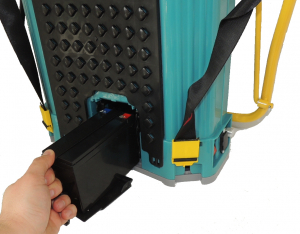 Pompa stropit electrica + Manuala ( 2 in 1 ) 16 Litri 5,5 Bar, Model 2019 + regulator presiune, Vermorel electric cu baterie - acumulator 12V 8Ah3