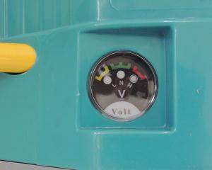Pompa stropit electrica + Manuala ( 2 in 1 ) 16 Litri 5,5 Bar, Model 2019 + regulator presiune, Vermorel electric cu baterie - acumulator 12V 8Ah5