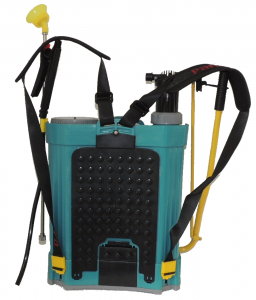 Pompa stropit electrica + Manuala ( 2 in 1 ) 16 Litri 5,5 Bar, Model 2019 + regulator presiune, Vermorel electric cu baterie - acumulator 12V 8Ah2