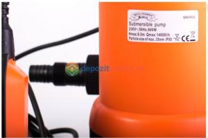 Pompa submersibila de plastic pentru apa murdara 900W Micul Fermier2