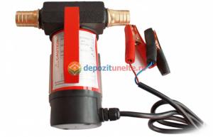 Pompa transfer combustibil camion rezervoare mari autoamorsata motorina 12V0