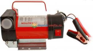 Pompa transfer combustibil camion rezervoare mari autoamorsata motorina 12V2