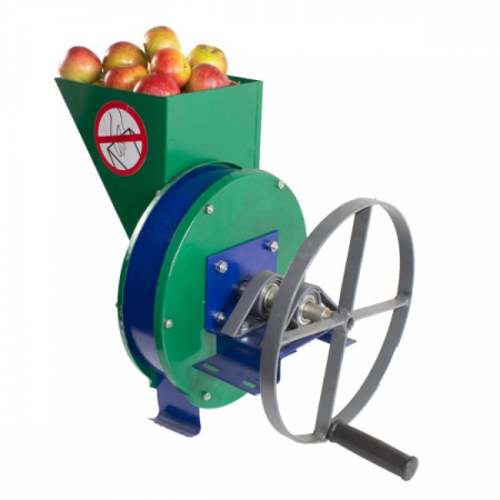 Razatoare Tocatoare manuala fructe si legume Vinita, cu disc de inox si fulie atasare motor [5]