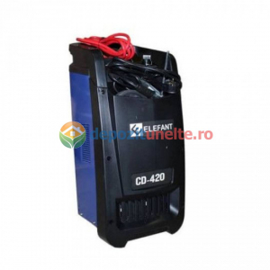 Robot pornire auto ELEFANT CD-420, 1100 W, 600AH, Albastru 10900