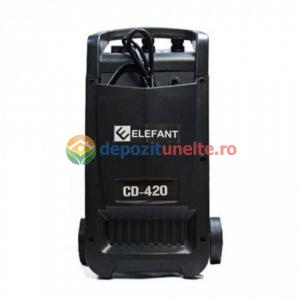 Robot pornire auto ELEFANT CD-420, 1100 W, 600AH, Albastru 10902