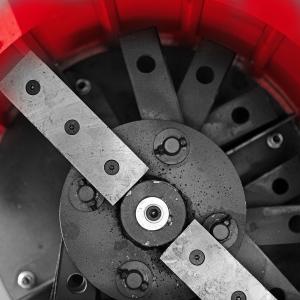Tocator electric pentru furaje, resturi vegetale si tulpini groase cu motor trifazat 7,5kW, tensiune 380V [7]