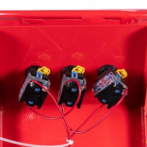 Tocator electric pentru furaje, resturi vegetale si tulpini groase cu motor trifazat 7,5kW, tensiune 380V [10]
