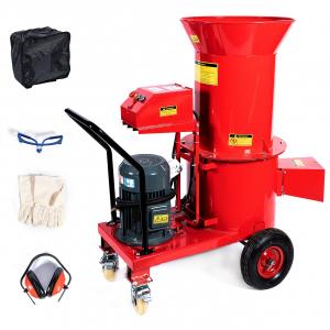 Tocator electric pentru furaje, resturi vegetale si tulpini groase cu motor trifazat 7,5kW, tensiune 380V [0]
