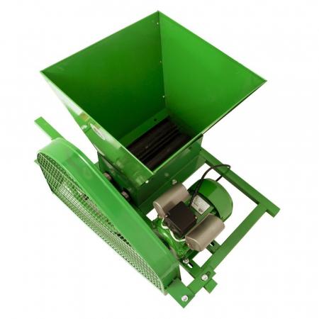 Zdrobitor electric de struguri, 240-500 kg/h, cuva 35L, 1.8kW, Fermax, Model 2021 [5]