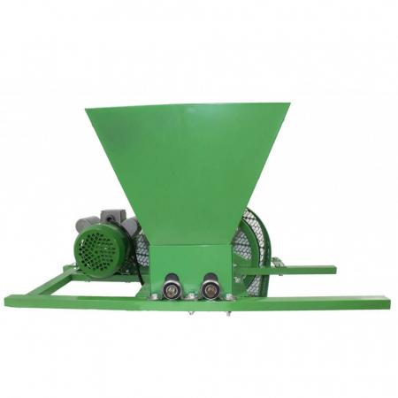 Zdrobitor electric de struguri, 240-500 kg/h, cuva 35L, 1.8kW, Fermax, Model 2021 [2]