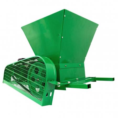 Zdrobitor / tocator electric de fructe si legume, 300 - 500 kg/h, cuva 35L, 1.8kW, Fermax, Model 2021 [1]