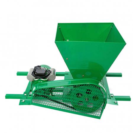 Zdrobitor / tocator electric de fructe si legume, 300 - 500 kg/h, cuva 35L, 1.8kW, Fermax, Model 2021 [4]