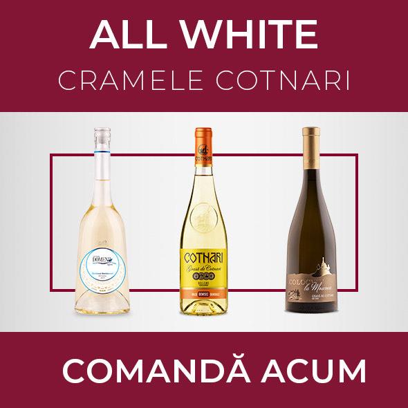 Pachetul ALL WHITE - Cramele Cotnari