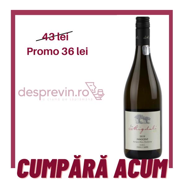 Domeniile La Migdali - Innocent Alb (vin eco)
