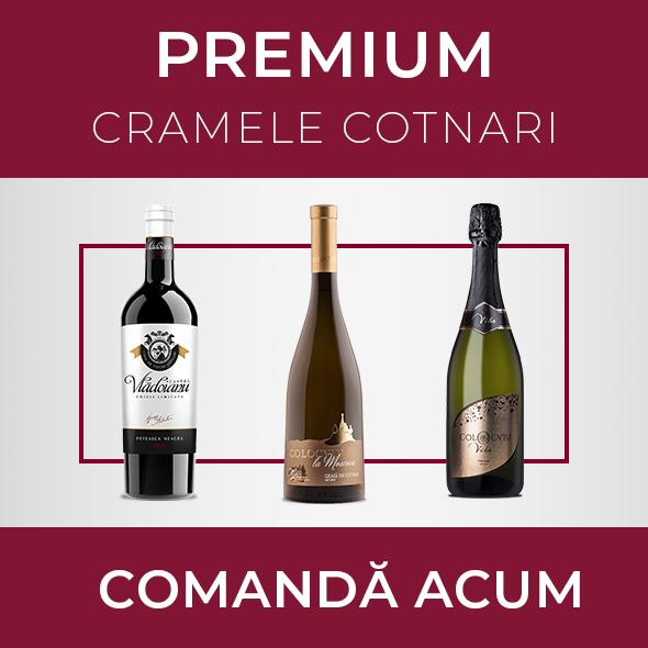 Pachetul PREMIUM - Cramele Cotnari