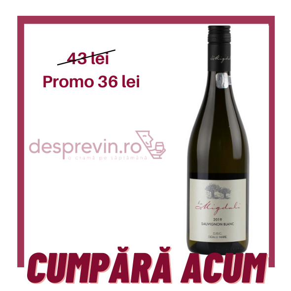 Domeniile La Migdali - Sauvignon Blanc