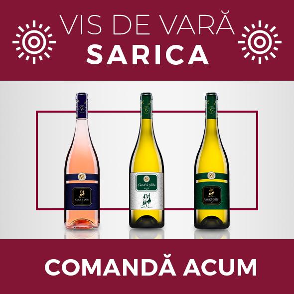 Pachetul VIS DE VARĂ - ViaViticola Sarica Niculițel