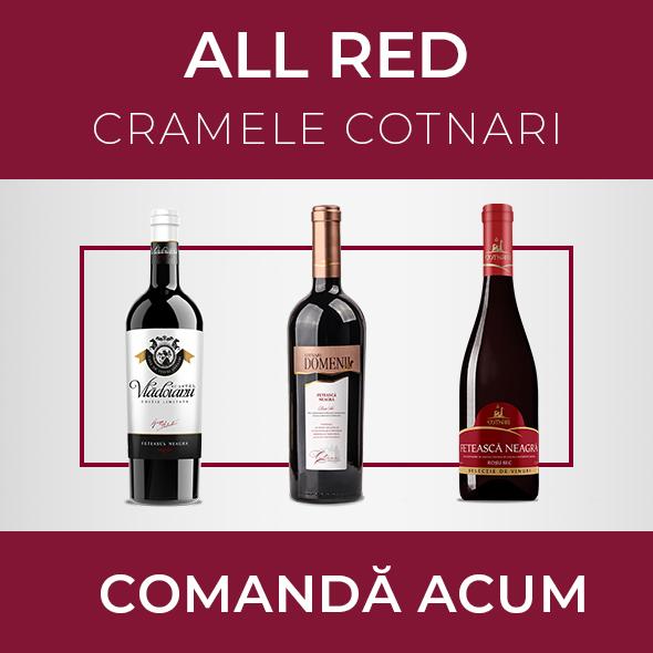 Pachetul ALL RED - Cramele Cotnari