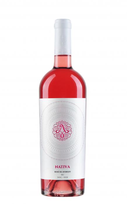Vin Domeniile Averesti Rose Nativa Domeniile Averesti Desprevin.ro 0