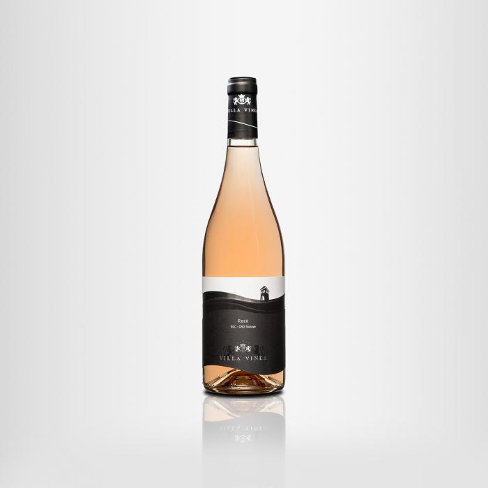 Vin Premium Rose Villa Vinea Desprevin.ro 0