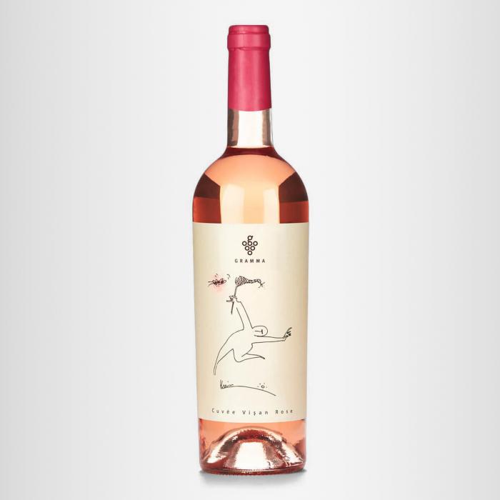 Vin Cuvee Visan Rose Crama Gramma Desprevin.ro 0