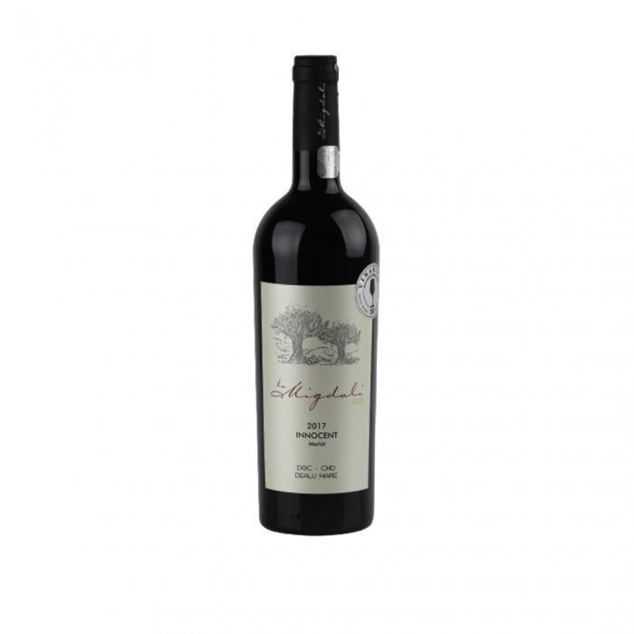 Vin Innocent Merlot Domeniile La Migdali Desprevin.ro 0