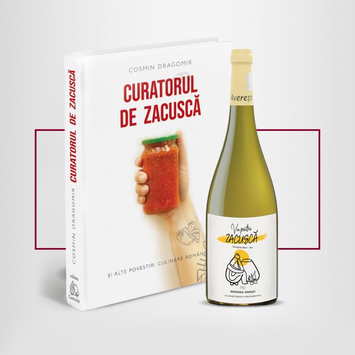 Pachet Vin si carte - CURATORUL DE ZACUSCA - Desprevin.ro [0]