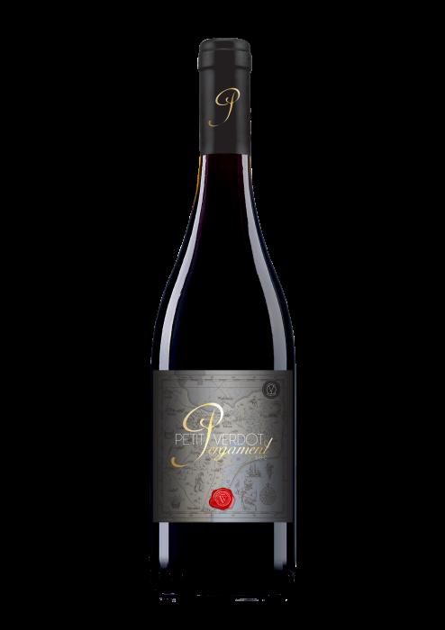 Vin Pergament Petit Verdot Via Viticola Desprevin.ro 0
