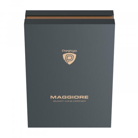 PRESTIGIO MAGGIORE ARGINTIU - Desfăcător automat de sticle cu vin0