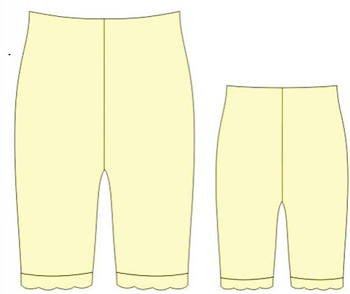 Chilot cu picior lung E180637 0