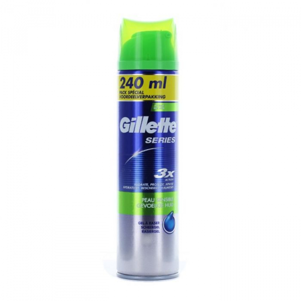 Gillette Gel Sensitiv 240ml 0