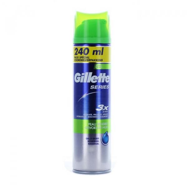 Gilette Gel Ras Sensitive 240ml 0