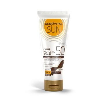 Gerovital Crema Prot. Solara Spf 50+, 100ml [0]