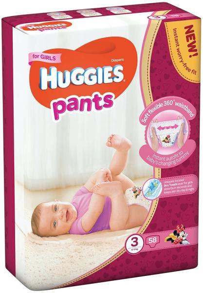 Huggies Pants Girls Nr. 3, 58Buc [0]