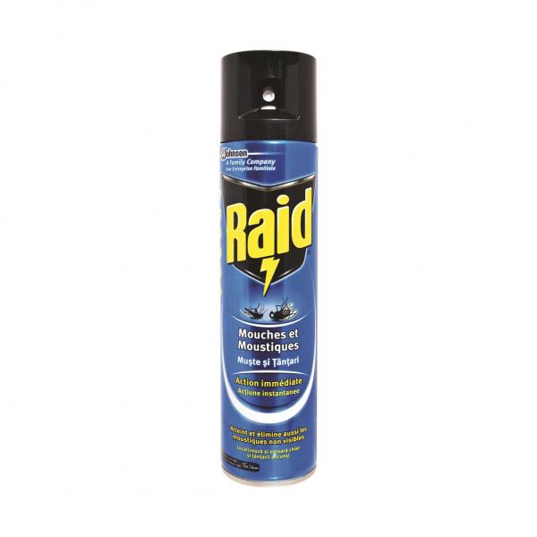 Raid Spray Muste Si Tantari, 400ml 0