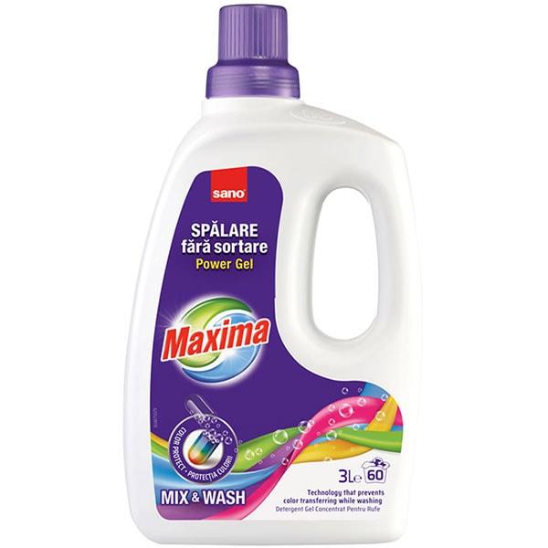 Sano Maxima Detergent Pentru Rufe Mix Wash 3l 0