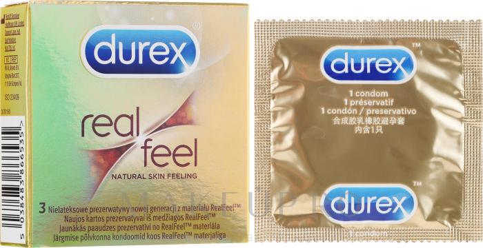 Durex Real Feel 3buc/set [0]