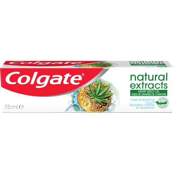 Colgate Natural Extracts Ulei Canepa 75ml [0]