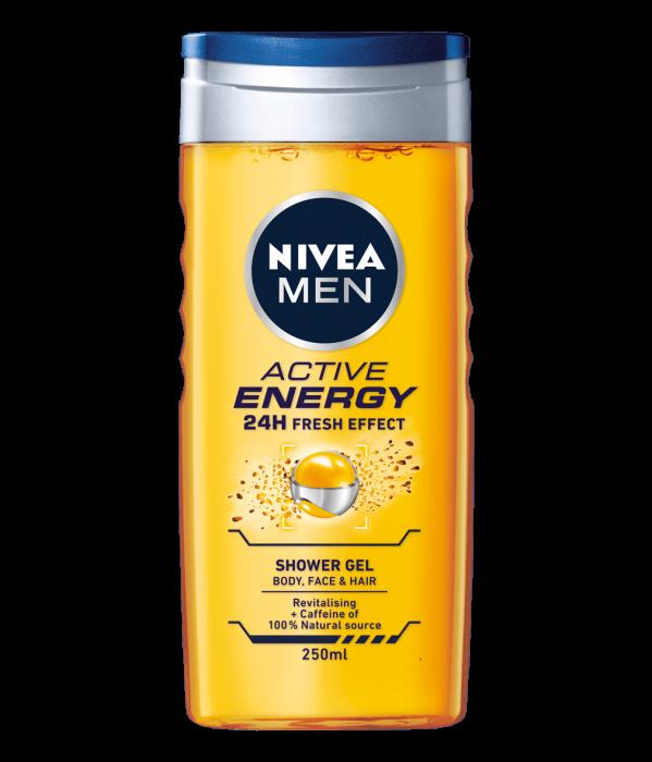 Nivea Men Gel Dus Act. Energy 500ml [0]