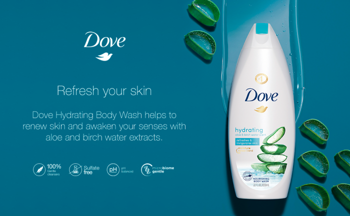 Dove Gel Dus Hydrating Care 500ml [0]