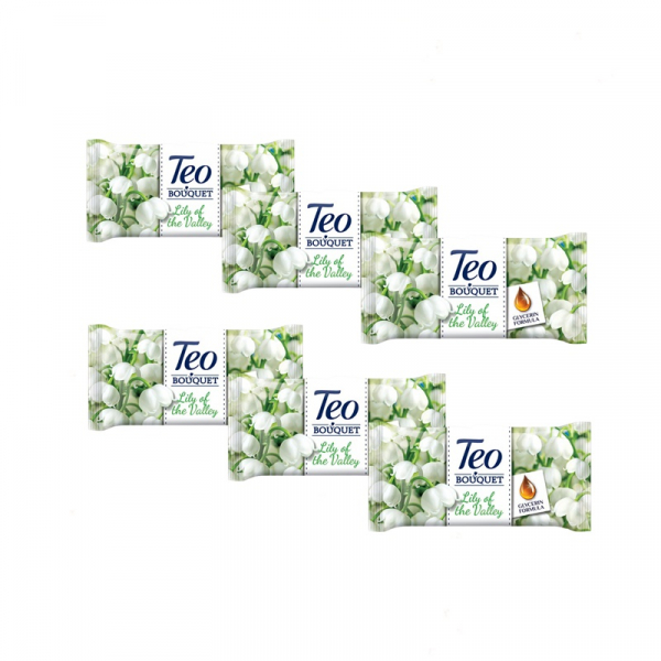 Teo Sapun Solid Lily Exotic 6 Bucati 0