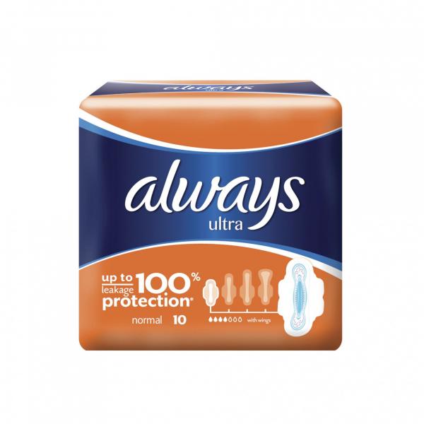 Absorbante Always Ultra Plus, 10 buc 0